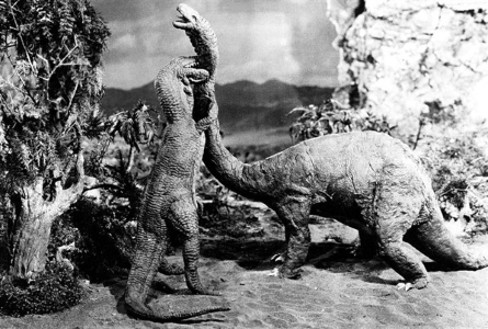 Still from the 1925 LOST WORLD
